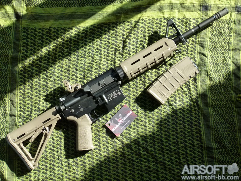 Pre Review Smith & Wesson M&P15T MOE King Arms AEG Smith-Wesson-MP15T-MOE-King-Arms-0002