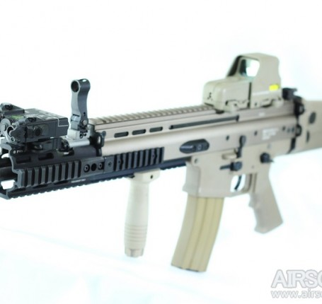 Madbull PWS rail extension review airsoftBB 0000