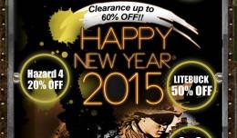 eHobbyasia descuento de año nuevo 60%