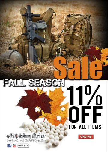 Fall Season Sales - Landing Page