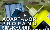 adaptador propano airsoft innovations youtube