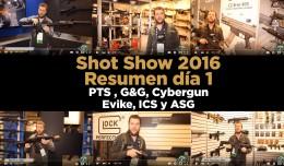 dia 1 Shot Show 2016