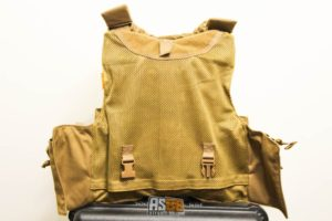 RBAV vest Evolution Gear coyote brown050