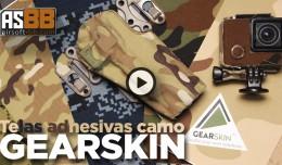 gearskin self adhesive fabric camouflage