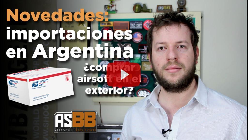 Airsoft Argentina 2016 Normalizaci N De Las Importaciones Novedades Para Compras De Airsoft En