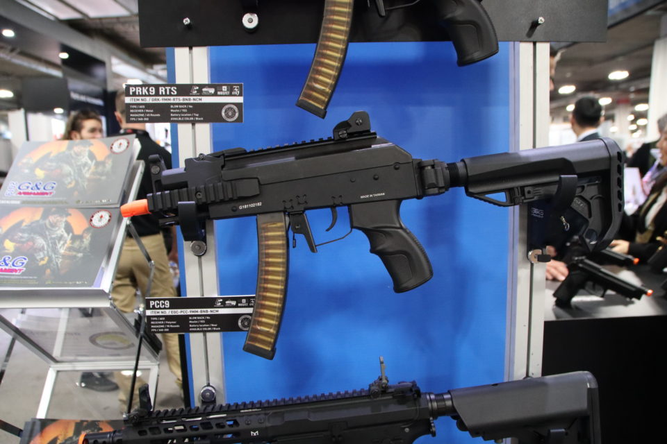 Shot Show 2019 día 1: Lancer Tactical, Especna Arms, G&G e ICS